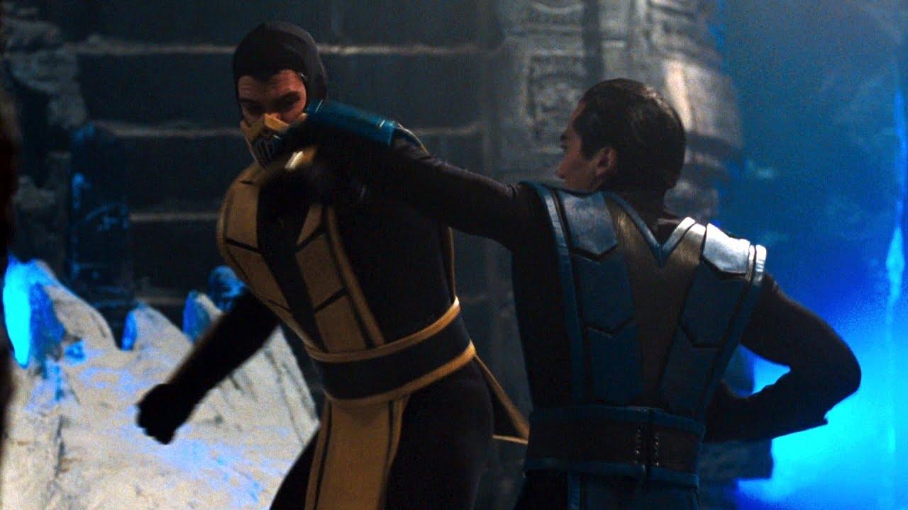 9 Sub Scorpion Zero Vs Mortal Kombat