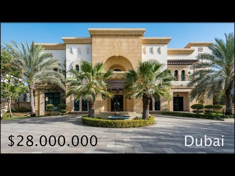 $28 Million DUBAI Mega Mansion - Emirates Hills