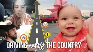 DRIVING ACROSS THE COUNTRY WITH AN INFANT