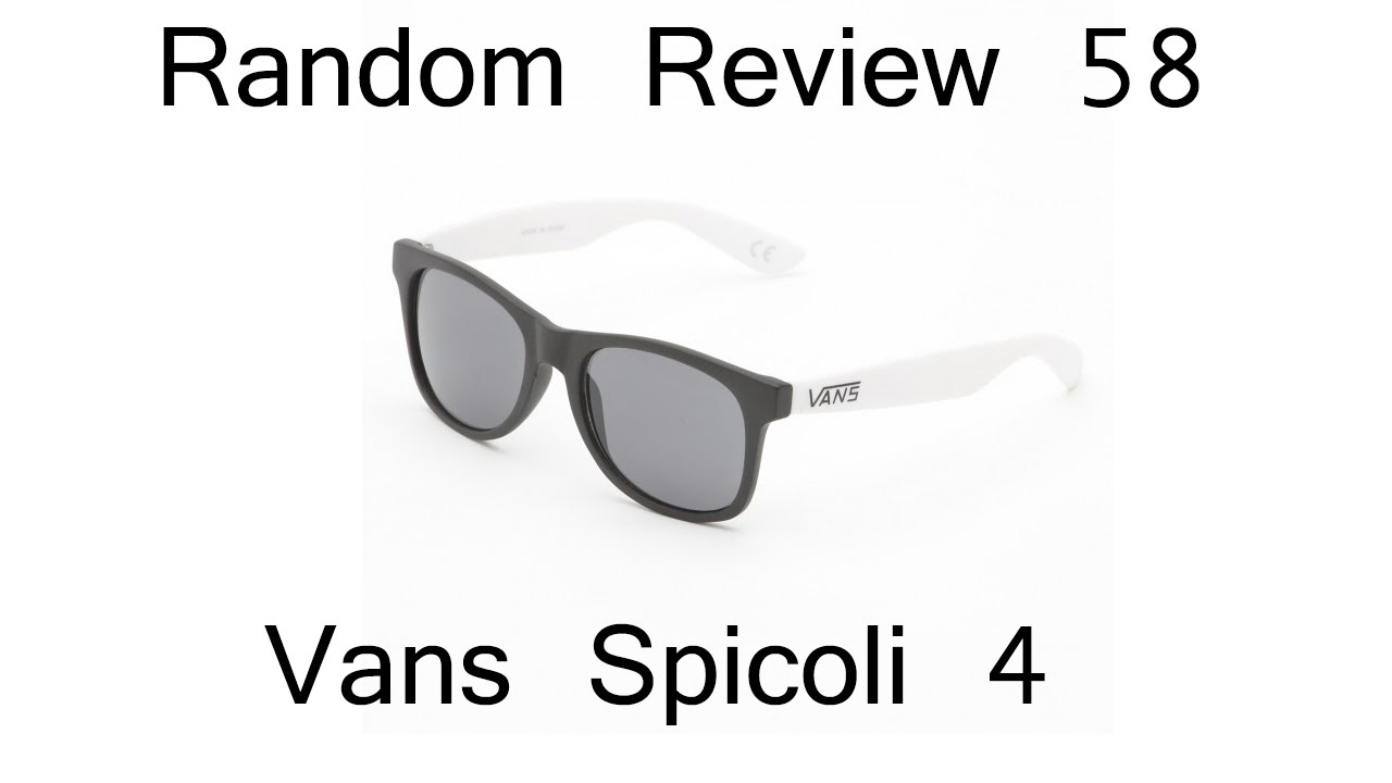 Vans Spicoli Jet Black Polarized YouTube