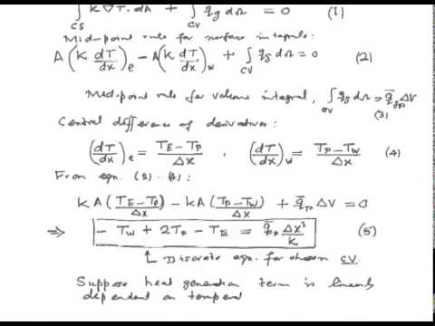 Mod-06 Lec-03 Application of FVM to Scalar Transport