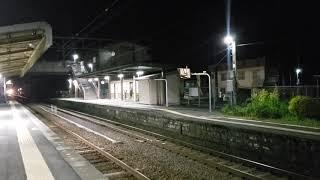深夜の日豊本線 ED76貨物列車