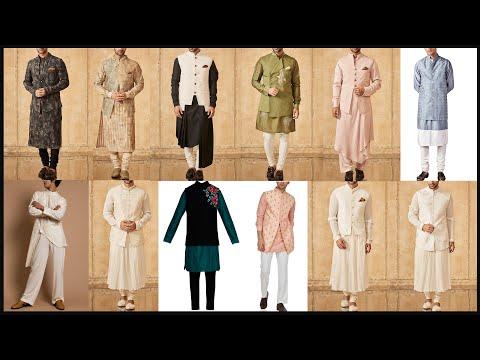 Party wear dresses for Men and Boys/Sherwani/Indo western dresses for men/Kurta pajama design- #FSHC