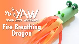 Young Artist Workshop: Fire Breathing Dragon