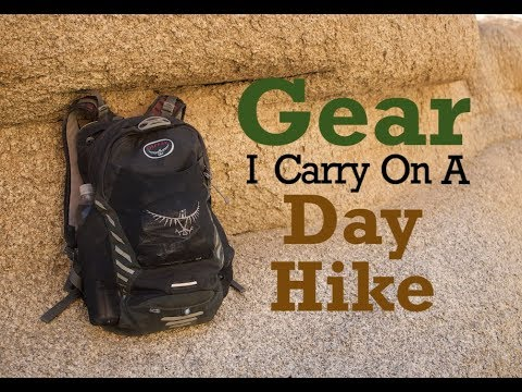 Gear I Carry On A Day Hike