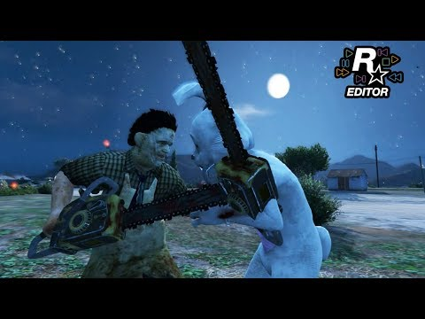 Leatherface VS Bunnyman - Death Battle (GTA 5)