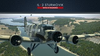 IL-2 Battle of Moscow, Ju52: Securing the bridge