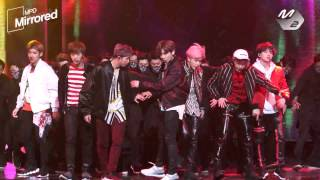 [Mirrored MPD직캠] 방탄소년단 Not today 거울모드 직캠(안무영상) BTS Choreography Fancam @엠카운트다운_170223