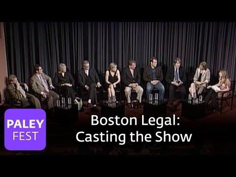 Boston Legal - David E. Kelley on Casting the Show (Paley Center, 2006)
