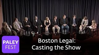 Boston Legal - David E. Kelley on Casting the Show (Paley Center, 2006)