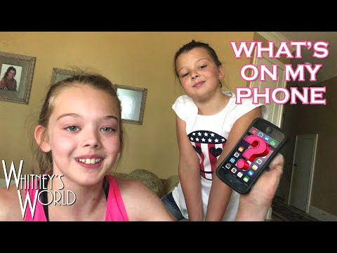 What's on My Phone? | Whitney Bjerken
