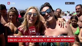 Verano 2019: C5N en San Bernardo
