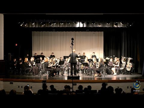 Pine Hollow Middle School Symphonic Band performs Valley Forge March on 3/18/2019