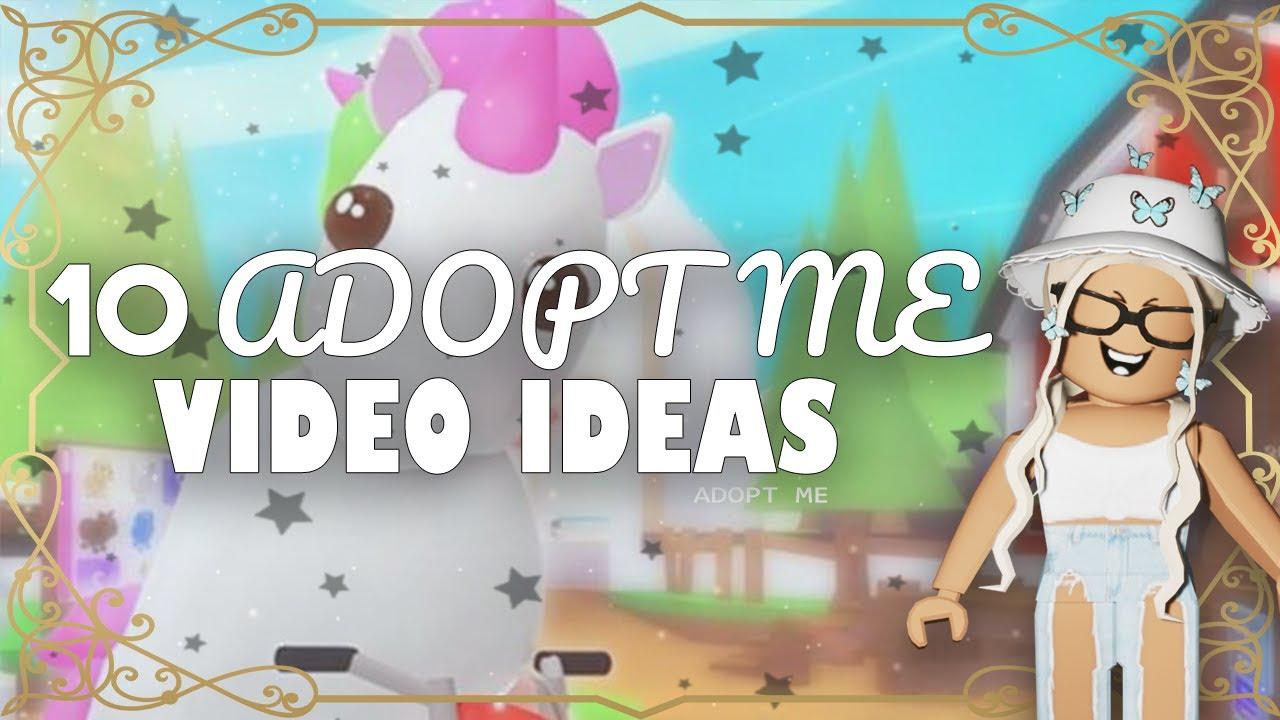 10 Adopt Me Video Ideas Roblox Adoptme Youtube