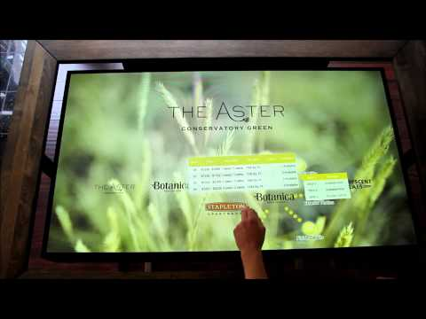 Interactive displays for the Real Estate industry