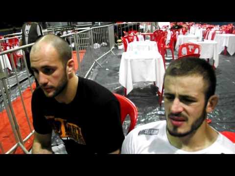Entrevista com Volkan Oezdemir e Nelson Carvalho