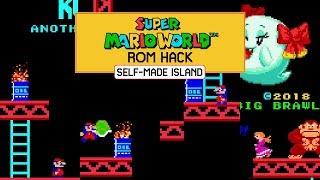 Donkey Kong 3: Another Rise! • Super Mario World ROM Hack (SNES/Super Nintendo)
