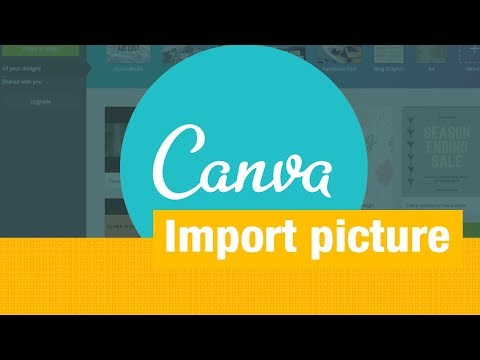 How To Import An Image On Canva