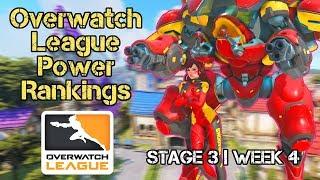 Overwatch League Power Rankings Stage 3 Week 3 | PR:S3W4