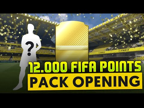 FIFA 17 - PACK OPENING 12 000 FIFA POINTS!