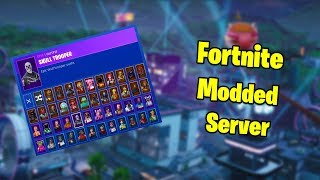 How To Get Every Skin In Fortnite With A Modded Server (Modnite)
