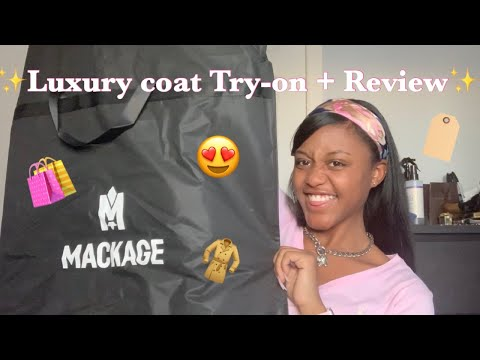 DETAILED Mackage Coat Unboxing + Review Ft. Affirm