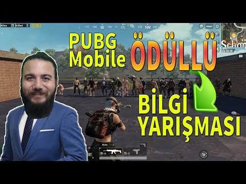 BİLEMEZSEN ÖLÜRSÜN! PUBG Mobile Ödüllü BİLGİ YARIŞMASI!