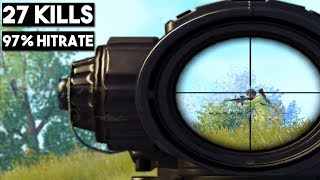 IF YOU LOVE SNIPERS WATCH THIS! | 27 KILLS Solo vs Squad | PUBG Mobile