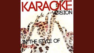 No Regrets (Karaoke Version)