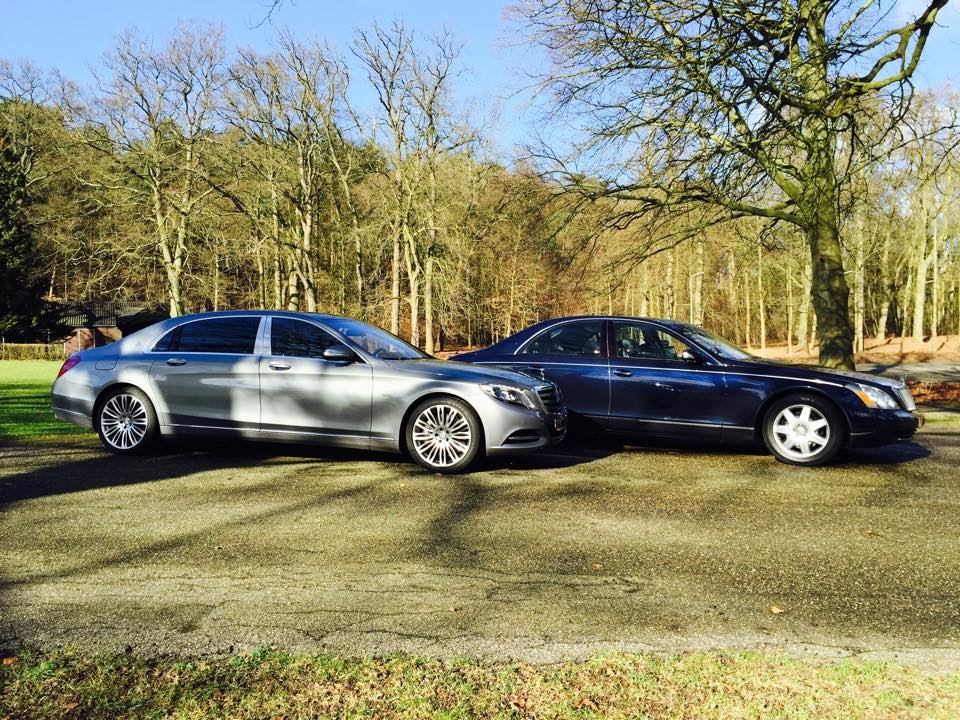 MercedesMaybach S600 vs Maybach 57  by Autovisie TV  YouTube