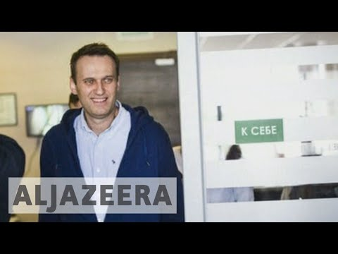 Russia: Opposition leader Alexei Navalny freed from jail