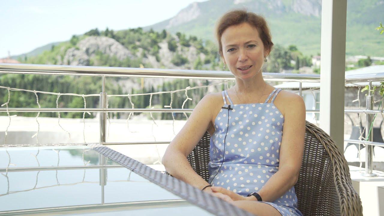 Интервью в Артеке: Елена Захарова