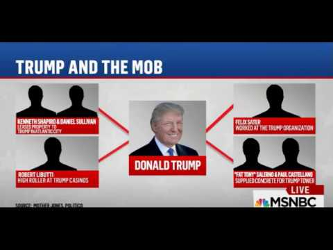 """MSNBC: Trump Has Ties To The Mob. """"He's In The Russian Mob"""""""