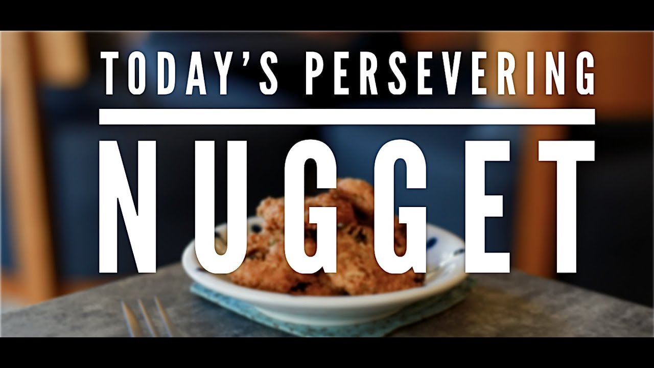 Persevering Nugget (Winning Your Battles)