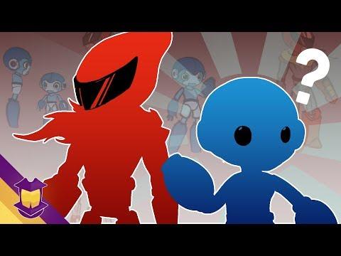 So, I Redesigned Mega Man & Proto Man