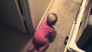 Got to Bed & Shut the Door! - An obedient baby
