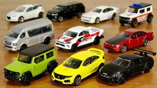 オール日本車シリーズ☆ギミックも豊富で最強食玩ミニカー!マジョレット日本車セレクション2 first 全10種 GT-R GT3の出来いい!ジムニー・セフィーロ・ハイエース・ハイラックス・シビック