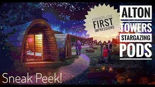 Alton Towers Stargazing Pods (Hands-on First Impressions!)