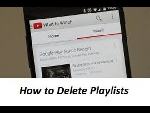 How To Delete Youtube Playlist on Android