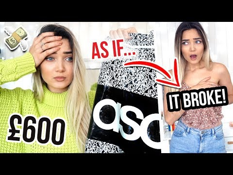 I SPENT £600 ON ASOS... WTF DID I EVEN BUY!?