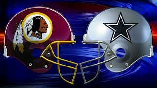 cowboys vs redskins ITS LIT!!!! | MADDEN 16