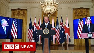 UK, US and Australia launch pact to counter China - BBC News