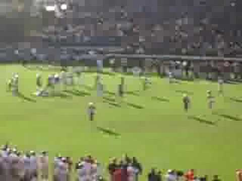 Egg Bowl 2007 - Final play and celebration