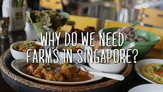 Why do we need farms in Singapore?