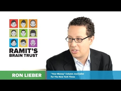 Ramit's Brain Trust - Ron Lieber Interview - YouTube