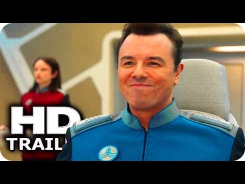 THE ORVILLE   2017 Star Trek Spoof, Seth MacFarlane Comedy Drama Series HD