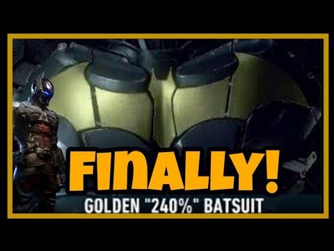 BATMAN™: ARKHAM KNIGHT/ Finally got the 240% of the game  