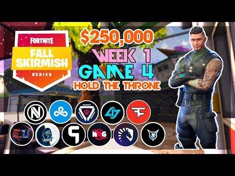 $250,000 🥊Hold the Throne Duo Fall Skirmish🥊 Week 1/Game 4 (Fortnite)