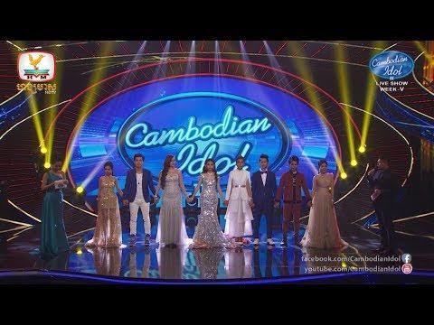 Cambodian Idol Season 3 Live Show Week 5 | RESULT