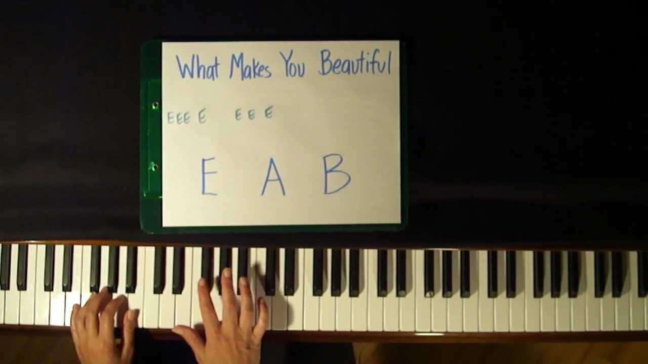 how to play you are so beautiful on piano